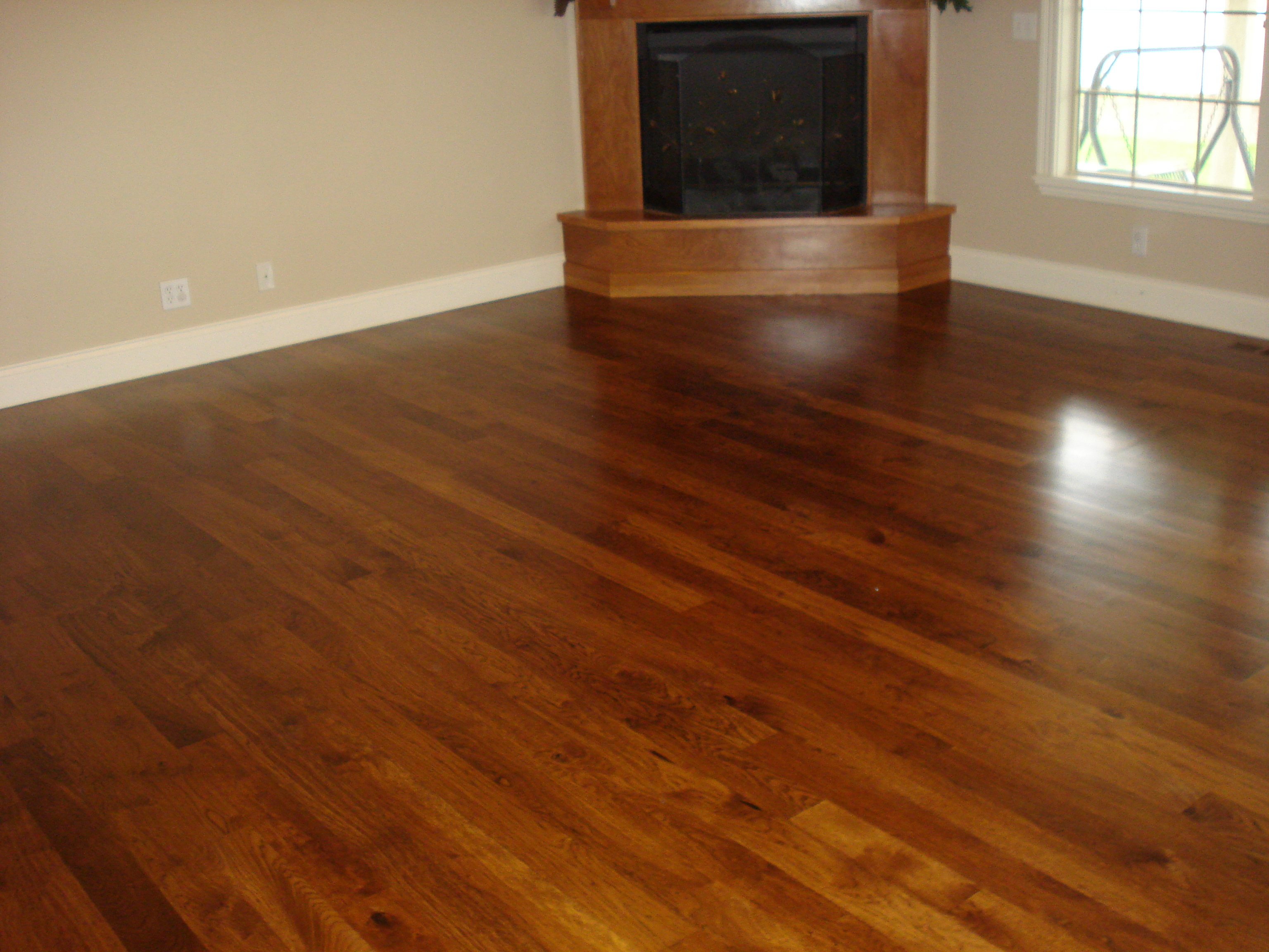 Empty Room Hardwood Floor