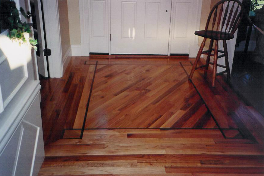 Hardwood Floor Entryway Design Ideas