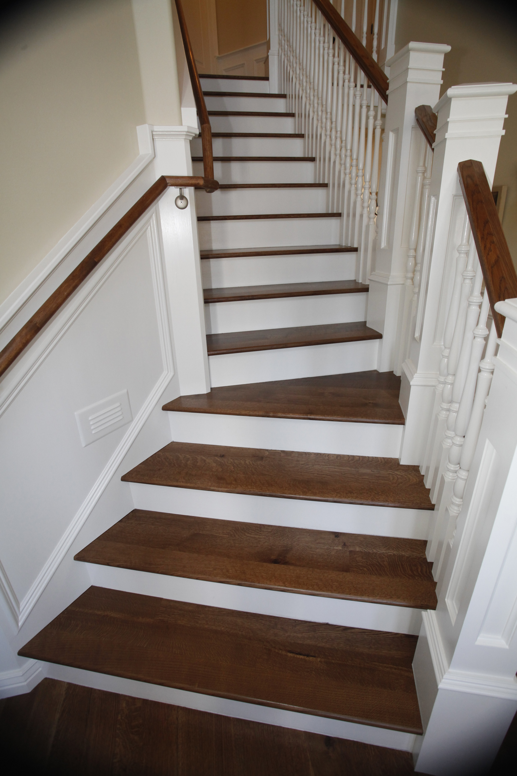 How to Install Prefinished Wood Flooring on Stairs Home Guides SF